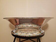 "Metallic Silver Chrome Color Claw Foot Bathtub Decor Bathroom Vanity 18x8x6.5"""