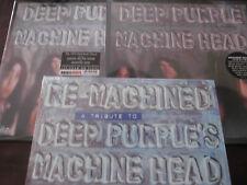 DEEP PURPLE Machine Head Sealed 180 GRAM ANALOG + ANNIVERSARY & COVERS 4 LP SET