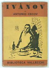 CECOV ANTONIO IVANOV VALLECCHI 1944 I° EDIZ. BIBLIOTECA VALLECCHI