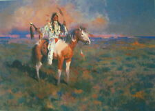 """James Reynolds """" Mystic of the Plains""""  S/N Limited Edition Print"""