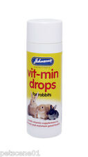 Johnsons Vit min Drops for Rabbits multi vitamin supplement promotes good health