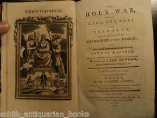 1795 Puritan John BUNYAN Holy War Shaddai Occult Satan Demons Christianity