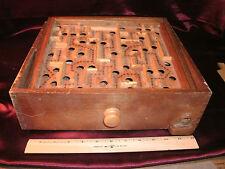 vtg wood Labyrinth Maze space tilt game