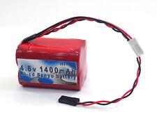 Sanyo 4.8V 1400mAh Ni-cd Rx Receiver Battery For Futaba Hitec JR