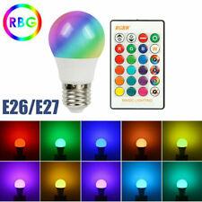 Modern Rgbw Led Bulb Light 16 Color Changing E26/E27 Lamp + Ir Remote Controller
