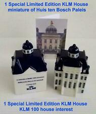 1 x SPECIAL Ltd Edition Delft house Issued on KLM 100 Anniversary 7 October 2019