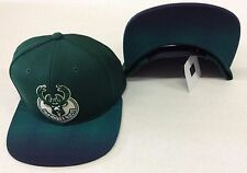 premium selection 4ca68 c55d8 NBA Milwaukee Bucks Adidas Design Under Brim Snap Back Cap Hat Style  VY58Z  NEW!