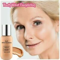 Youth Velvet Foundation Professional Full Cover Matte Base Makeup Waterproof 40g