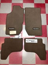 2001-2004 TACOMA DOUBLE CAB CARPET FLOOR MATS OAK BEIGE GENUINE TOYOTA