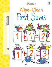 Usborne Wipe - Clean First Sums