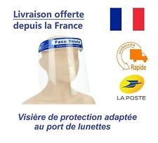 FACE SHIELD Reusable / Washable Safety Protector - Delivery from France