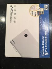 White Nintendo DSi System w/ Brain Age Collection Brand New Sealed