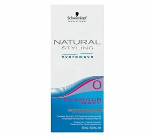 Schwarzkopf Natural Styling Hydrowave Glamour Wave Set Perm And Fixation