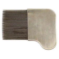 Pettine di metallo per capelli Unisex