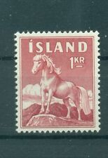 CHEVAUX - PONEYS ICELAND 1960 Common Stamp