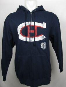 Montreal Canadiens NHL G-III Men's Full Zip Winter Classic Hoodie