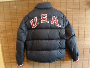 2010 Winter Paralympic Polo Ralph Lauren Team USA Opening Ceremony Down Jacket M