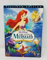 The Little Mermaid DVD 2006 2-Disc Set, Platinum Edition Sealed