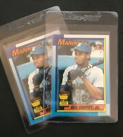 1990 Topps Ken Griffey Jr Rookie Cup 2nd Year Card #336 RC Cup!