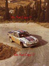 Ari Vatanen Opel Ascona 400 Acropolis Rally 1983 Photograph 2