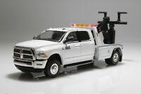 Dodge Ram 3500 Wrecker/ Tow Truck, DRW, Diesel Dually,1:64 Diecast Model, White