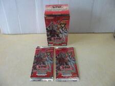 Yu-Gi-Oh Jaden Yuki 3 : Pack du Duelliste : 2 Booster + sa boite VIDE