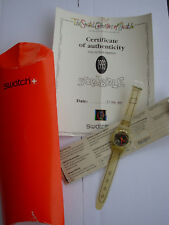 SWATCH SPECIAL COLLECTOR SCRIBBLE - GZ124PACK - 1993 - NEW