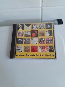 Abstract Records Punk Collection CD (Anagram CD PUNK 52, 1995) EX
