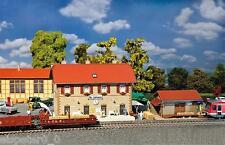 Faller 190119 Escala H0, Estación Set Stjohann, Miniaturas Modelo Kit 1:87