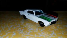 Custom 1/64 Scale Hot Wheels 1970 Chevy Monte Carlo Cinco De Mayo Mexico Flag