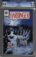 * HARBINGER #4 CGC 9.8 W/Coupon Lowest Printed Pre-Unity Issue! (1160845015) *