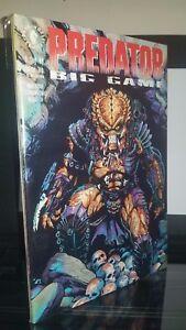 Predator: Big Game Full Mini Series Issues #1-4 Dark Horse 1991 Arcudi & Dorkin