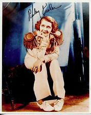 RUBY KEELER - BUSBY BERKLEY MUSICAL ACTRESS SINGER SIGNED PHOTO AUTOGRAPH