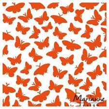 Marianne Design Prägepapier Schmetterlinge df3433 125 X 125 mm