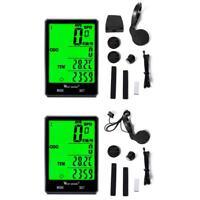 WEST BIKING Bicycle Computer Rainproof Wireless Wired Speedometer Odometer