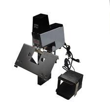 Flat+Saddle Stitching Electric Auto Rapid Stapler Binder Book Binding Machine