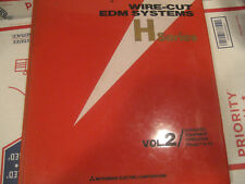 Mitsubishi Wire Edm Binder Manual H Series Volume 2 Standard Equipment Operation