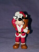 "Disney's Santa Goofy Christmas Cake Toppers PVC Figurine Applause China 2.5"" T"