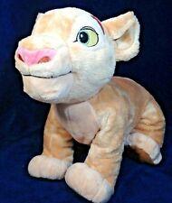 Disney Lion King Nala Plush Brown Toy Doll Stuffed Animal 15'' Green Eyes