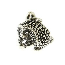 925 Sterling Silver Porcupine Charm Made in Usa
