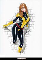 MARVEL Comics KITTY PRYDE Original Art SHADOWCAT HOUSE POWERS OF X WOLVERINE X23