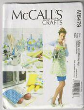 6479 McCALLS Crafts - APRON TOWEL POTHOLDERS & BAGS