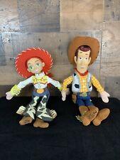 """Disney Pixar Toy Story Woody & Jessie 15"""" Plush Doll"""