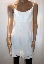 Miss Shop Brand White Sleeveless Casual A Line Dress Size 12 BNWT #SW36