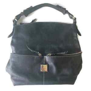 Dooney & Bourke Black Hobo Shoulder Bag Purse