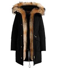 WOOLRICH Donna MILITARY PARKA NERO jacket woman - ORIGINALE LIST. 1150,00 SALDI