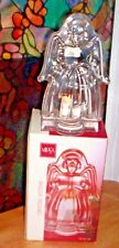 Mikasa Crystal Angel Votive Candle Holder w/Led Tealight in Original Box ~ USA