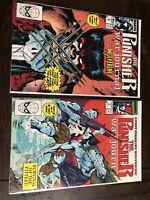 The Punisher War Journal #6/#7 vs Wolverine Marvel Comics 1989 VF/NM Jim Lee