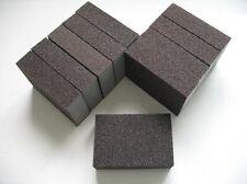 10 X COARSE WET DRY FOAM SANDING BLOCKS ABRASIVE SANDPAPER GRADES PADS GRIT