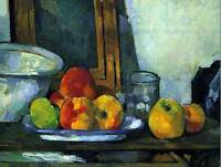 PAUL CEZANNE STILL LIFE WITH AN OPEN DRAWER MASTER ART PAINTING PRINT 2131OMB